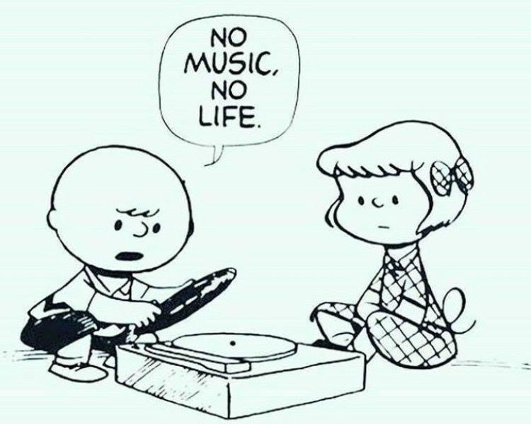 Be muzikos ne gyvenimas