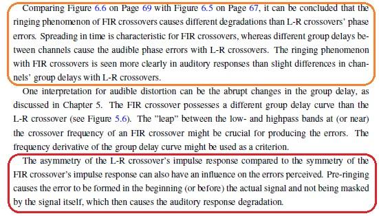 FIR vs L-R