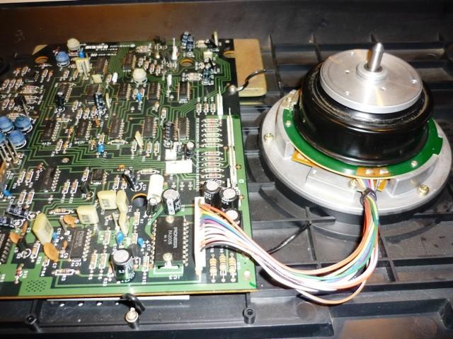 4 Direct Drive pavara-motoras su elektroniniu valdymo moduliu