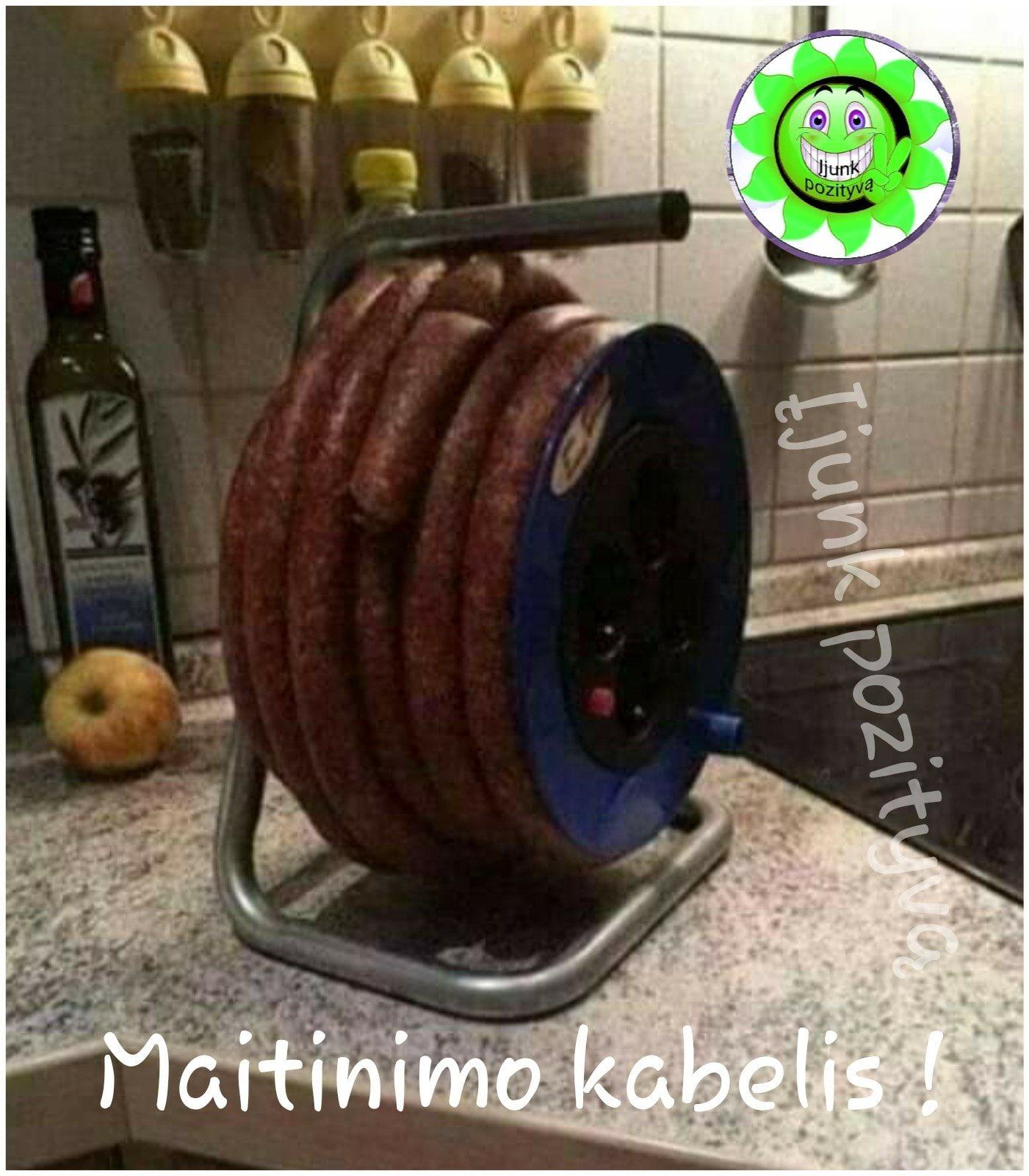 Maitinimo kabelis